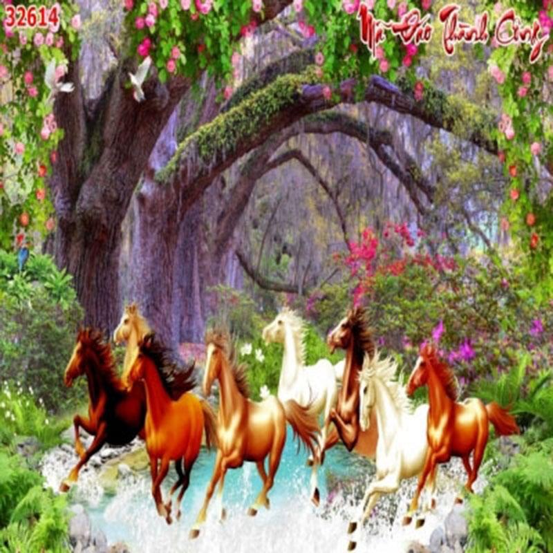Tranh Bát Mã - 32614