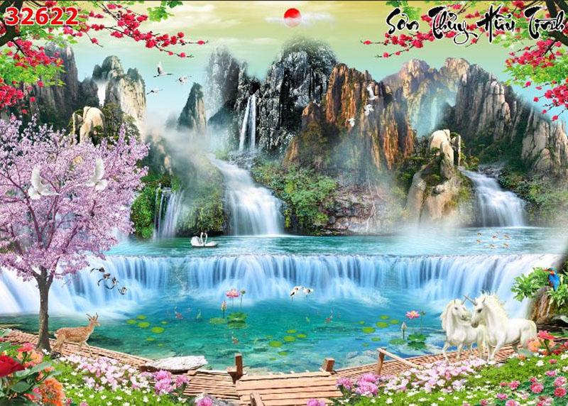Tranh Sơn Thủy - 32622