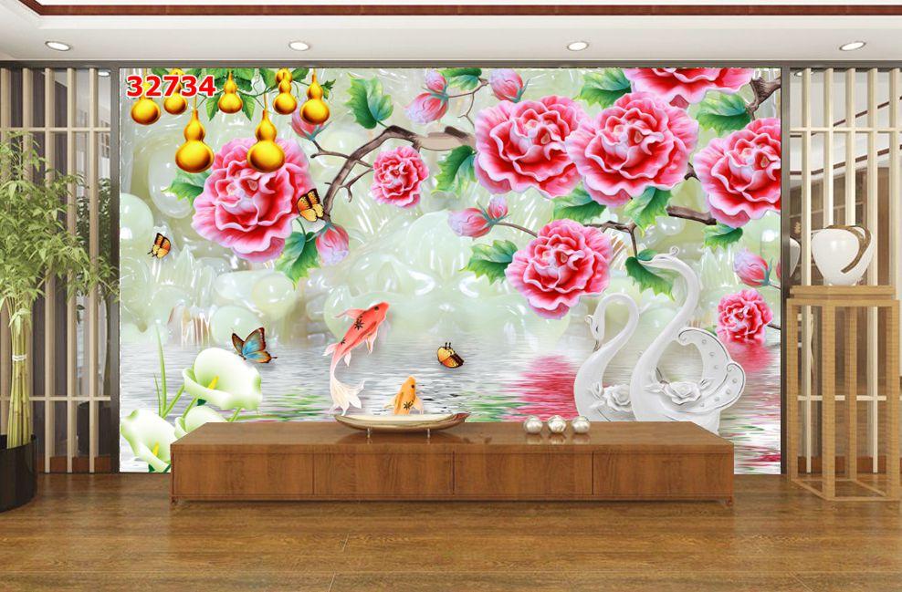 Tranh Hoa 3D - 32734