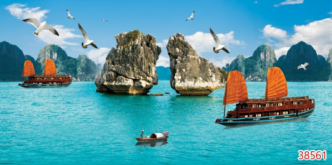 Tranh Phong Cảnh Biển - 38561