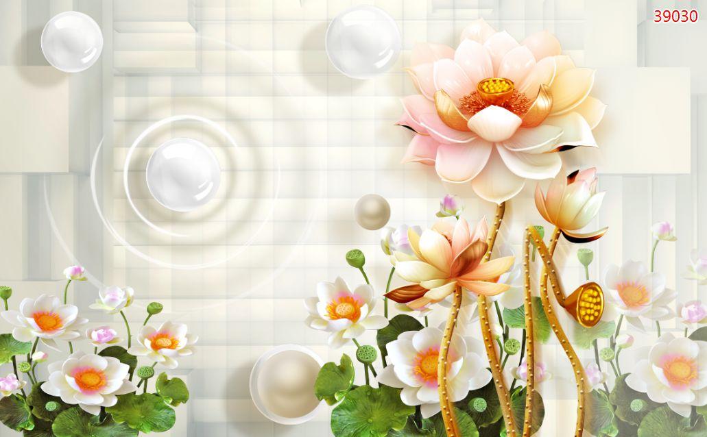 Tranh Hoa 3D - 39030