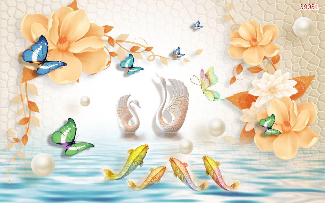 Tranh Hoa 3D - 39031