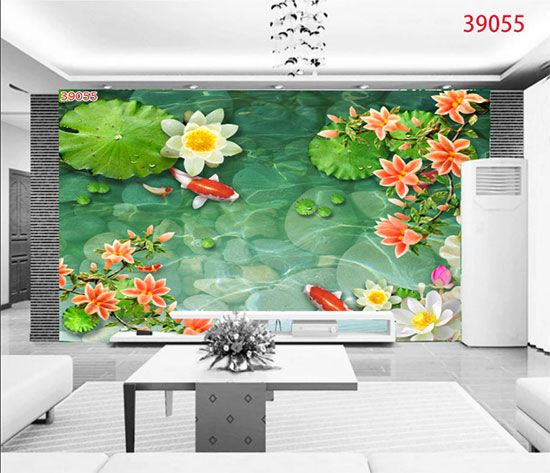Tranh Hoa Sen - 39055