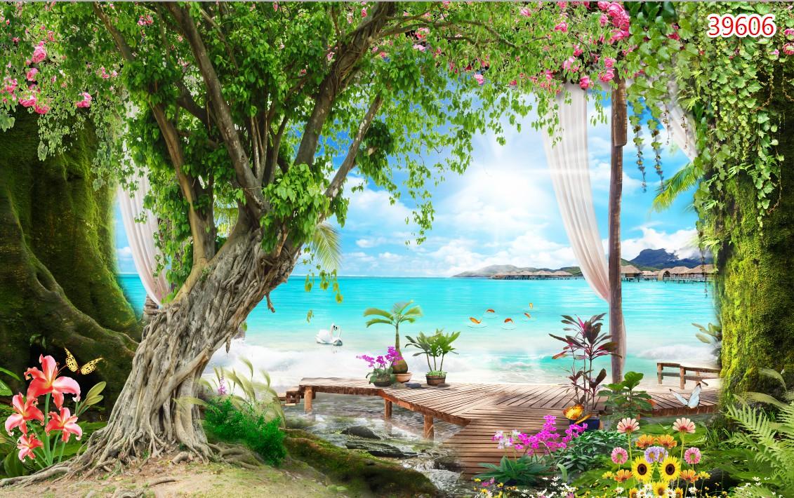 Tranh Phong Cảnh Biển - 39606