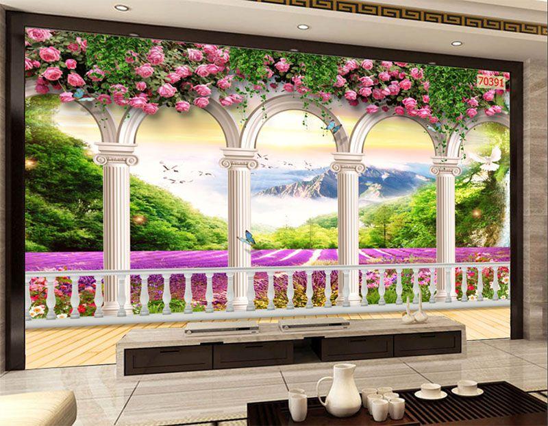 Mẫu Tranh 3D Quán Trà Sữa, Cafe - 70391