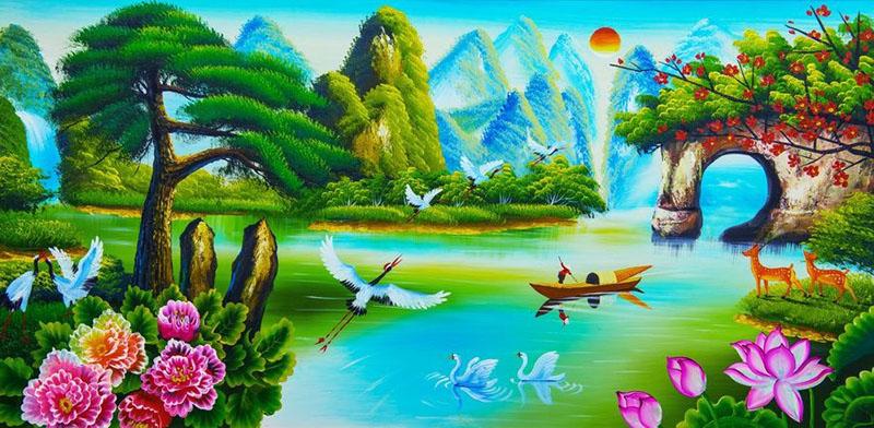 Tranh Đồng Quê - DQ5704