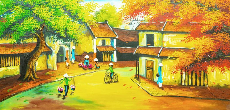 Tranh Đồng Quê - DQ5705