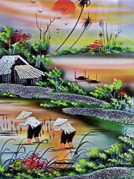 Tranh Đồng Quê - DQ50