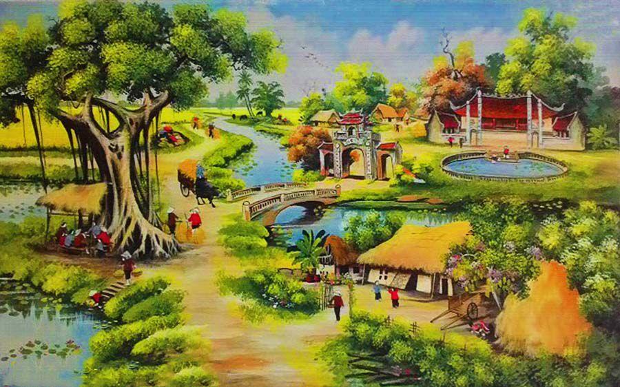 Tranh Đồng Quê - DQ72