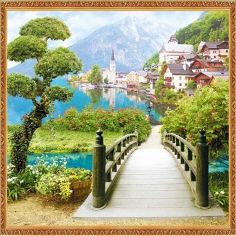 Tranh Phong Cảnh 3D - PC2504