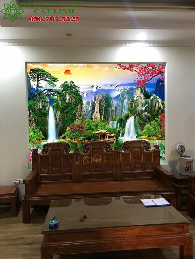 Tranh Sơn Thủy Phòng Khách