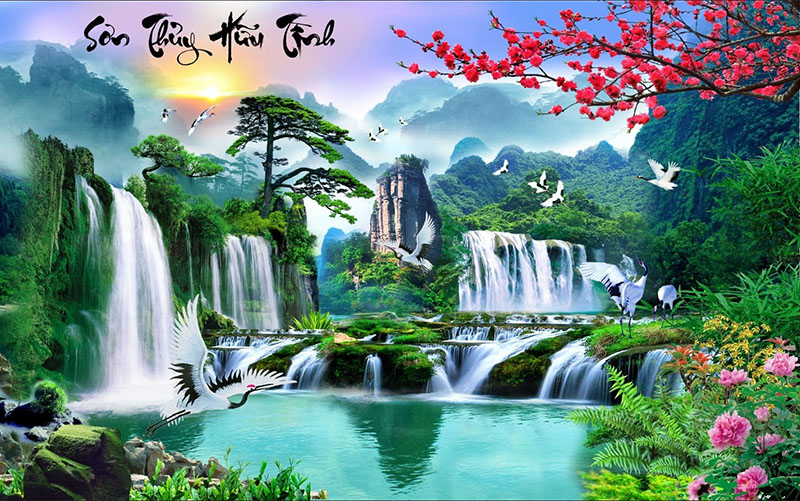 Tranh Sơn Thủy - 10357