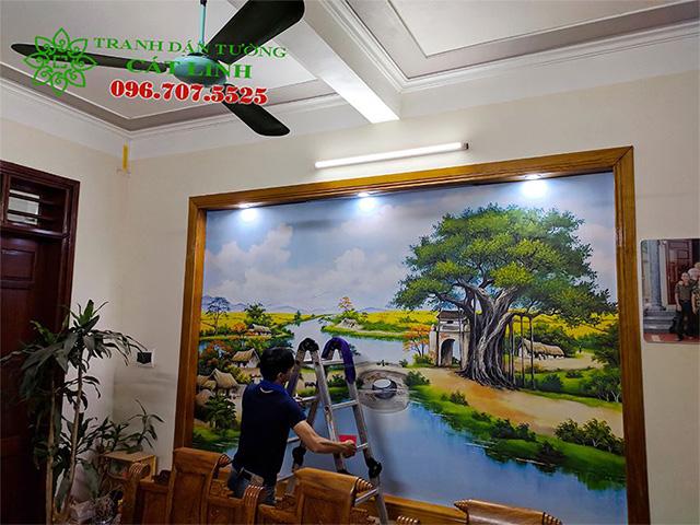 Công Trình Tranh 3D Tại Gia Lương - Ga Lộc