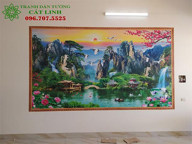 Tranh Tại Uông Bí Quảng Ninh
