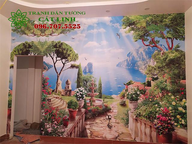 Tranh Phong Cảnh Thiết Kế Cho Phòng Ngủ