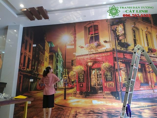 Setup Công trình quán Trà Sữa tại Hưng Yên