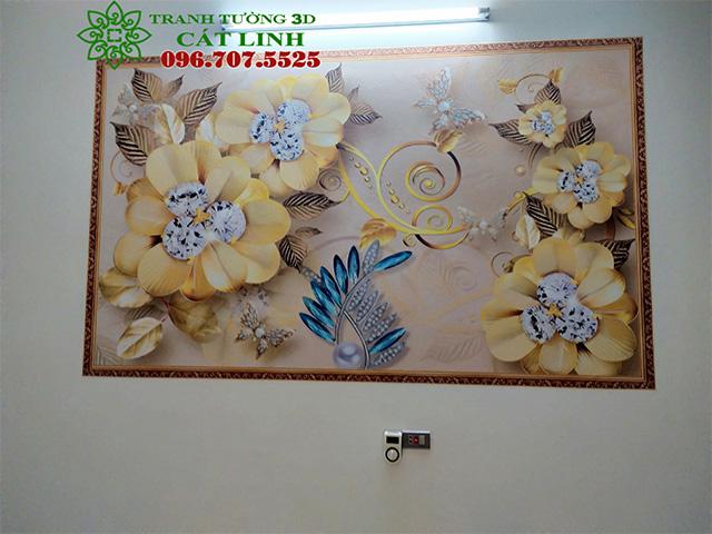 Tranh Ceramic tại Gia Khánh Gia Lộc