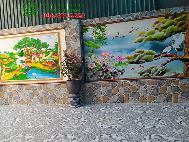 Tranh Cầu Thang tại Thái Sơn Kinh Môn