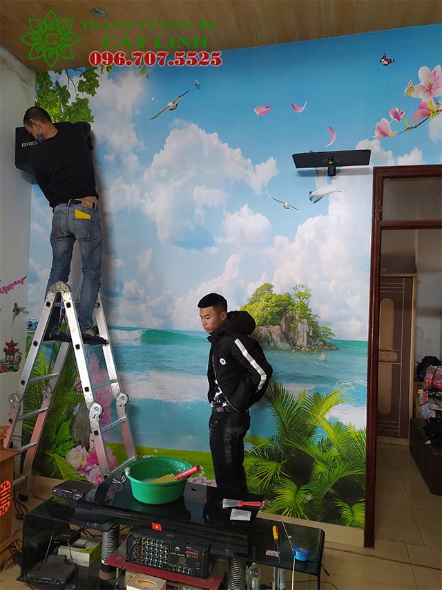 Tranh Biển Phòng Khách tại Lê Viết Quang