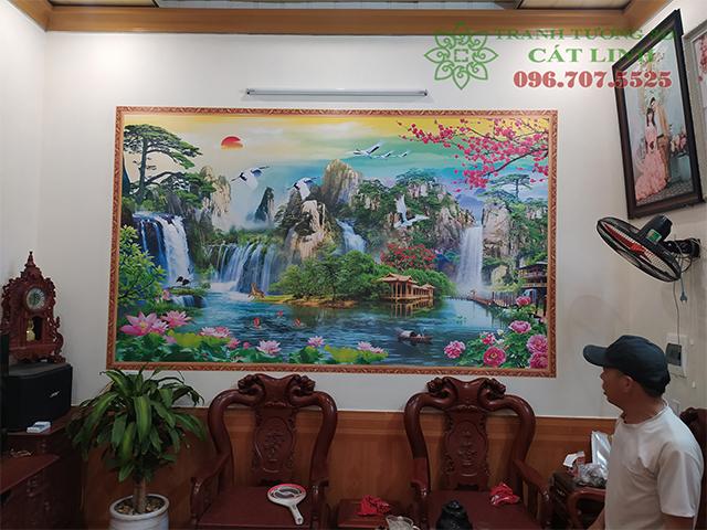 Hoàn Thiện Tranh 3D tại Lương Tài Bắc Ninh