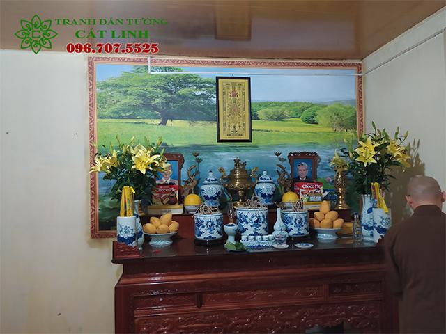 Tranh tường 3D tại Chợ Bò Ninh Giang