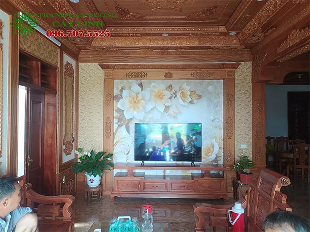 Tranh 3D tại Kiến Quốc Ninh Giang