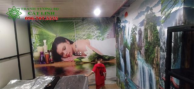 Công trình phòng Spa tại Việt Hồng
