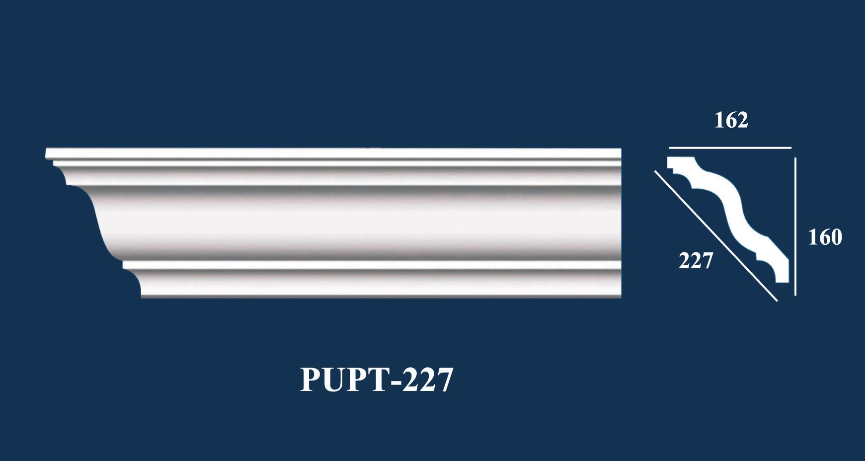 Phào Góc Trần PU Trơn - PUPT-227