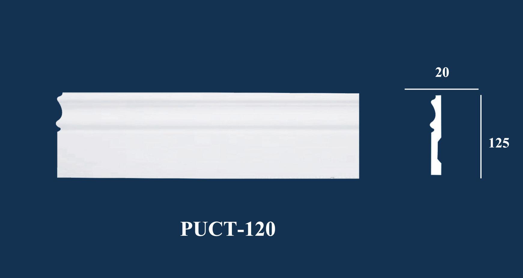 Nẹp Tường Trơn - PUCT-120