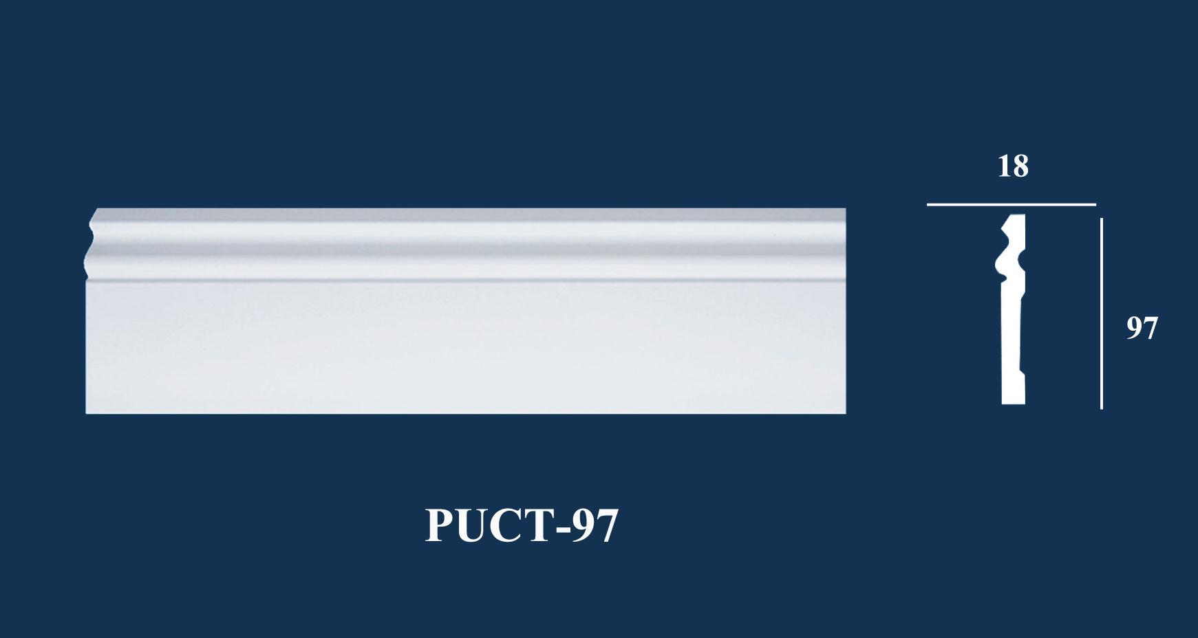 Nẹp Tường Trơn - PUCT-97