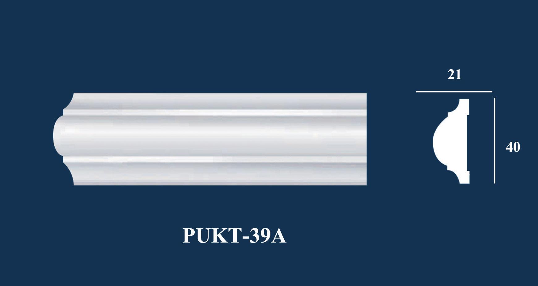 Nẹp Tường Trơn - PUKT-39A