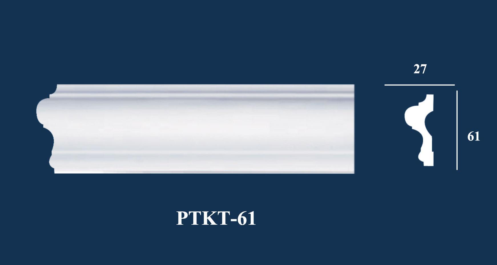 Nẹp Tường Trơn - PUKT-61