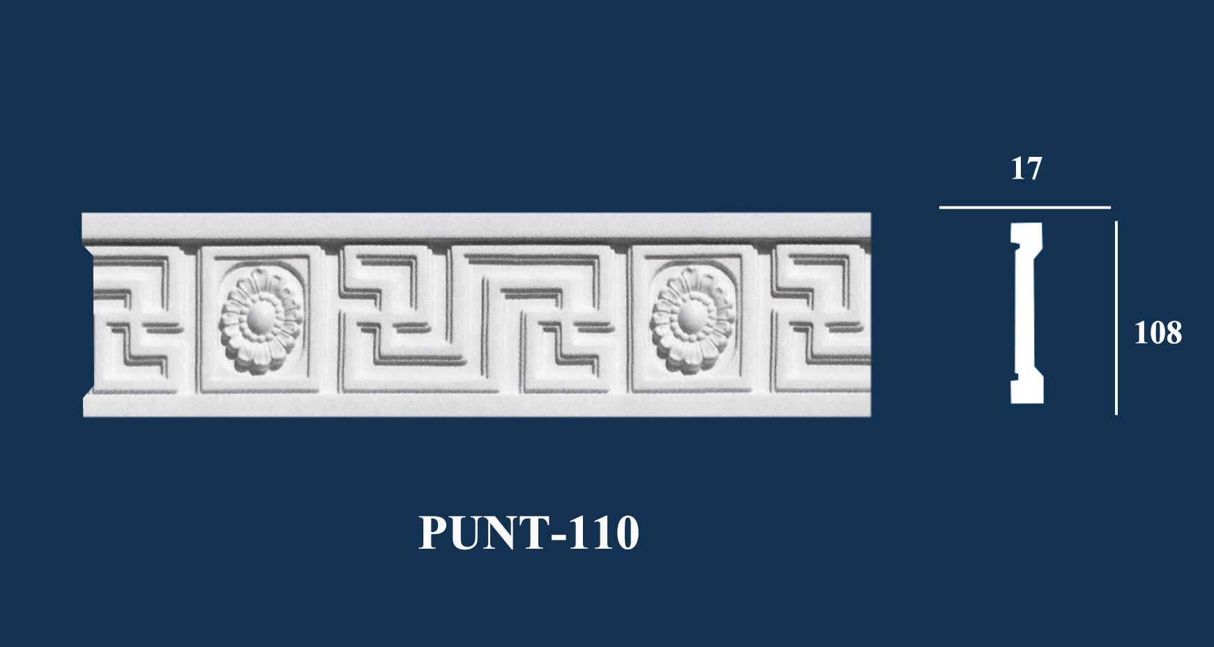 Chỉ Nẹp Hoa Văn Trang Trí - PUNT-108