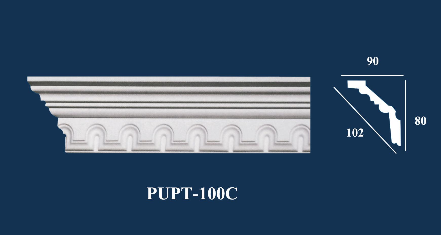Phào Góc Trần PU Hoa Văn - PUPT-100C