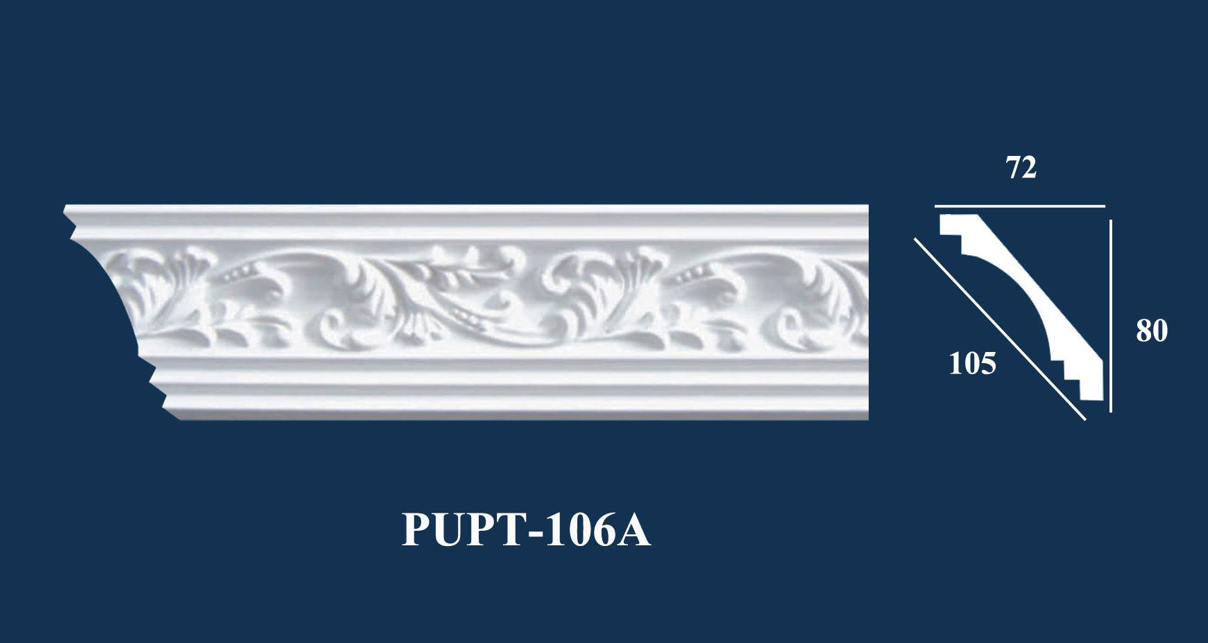 Phào Góc Trần PU Hoa Văn - PUPT-106A