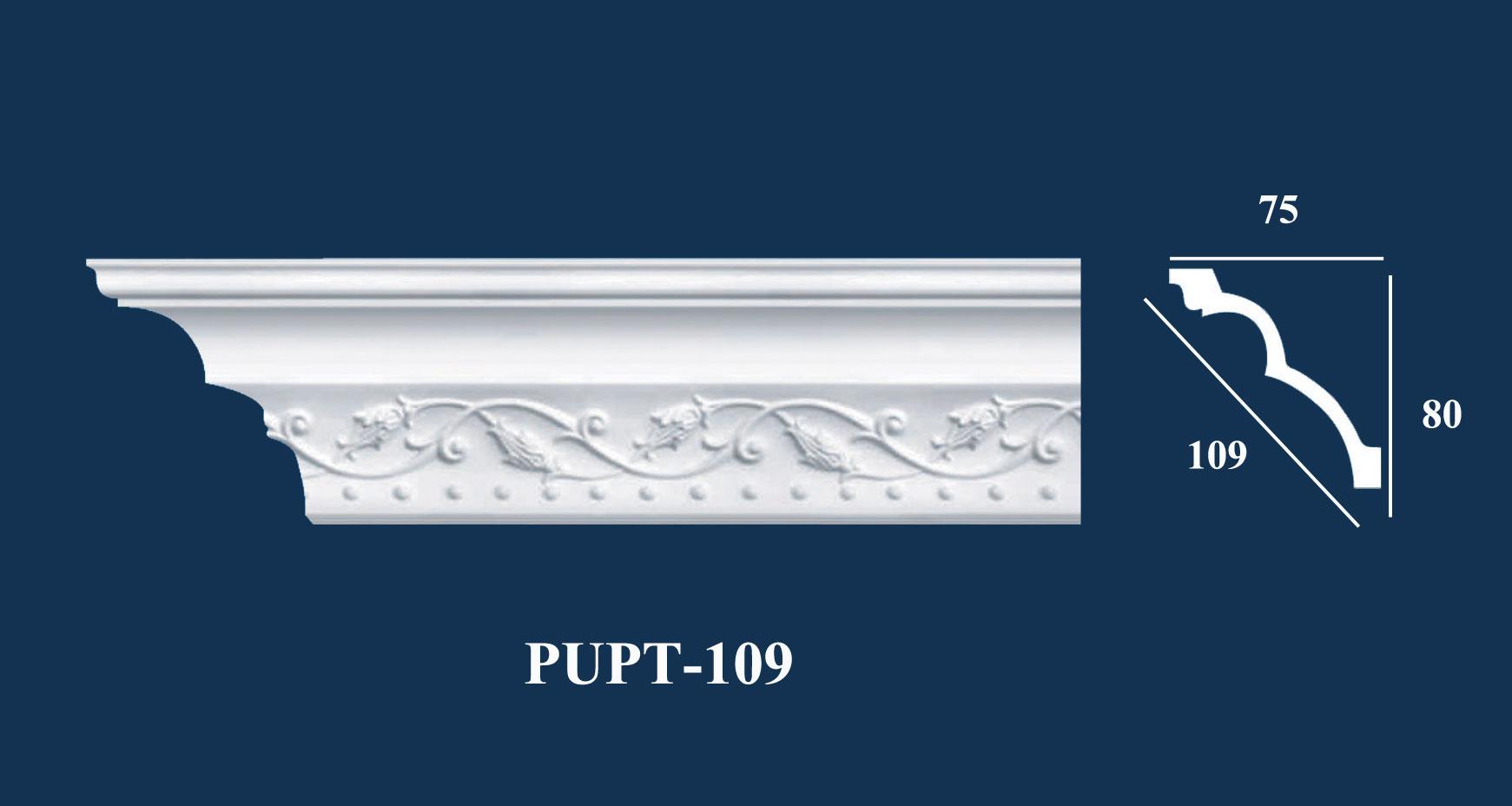 Phào Góc Trần PU Hoa Văn | PUPT-109