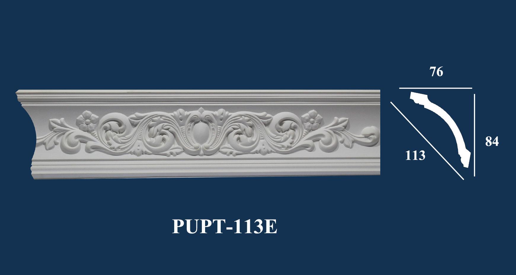 Phào Góc Trần PU Hoa Văn | PUPT-113E