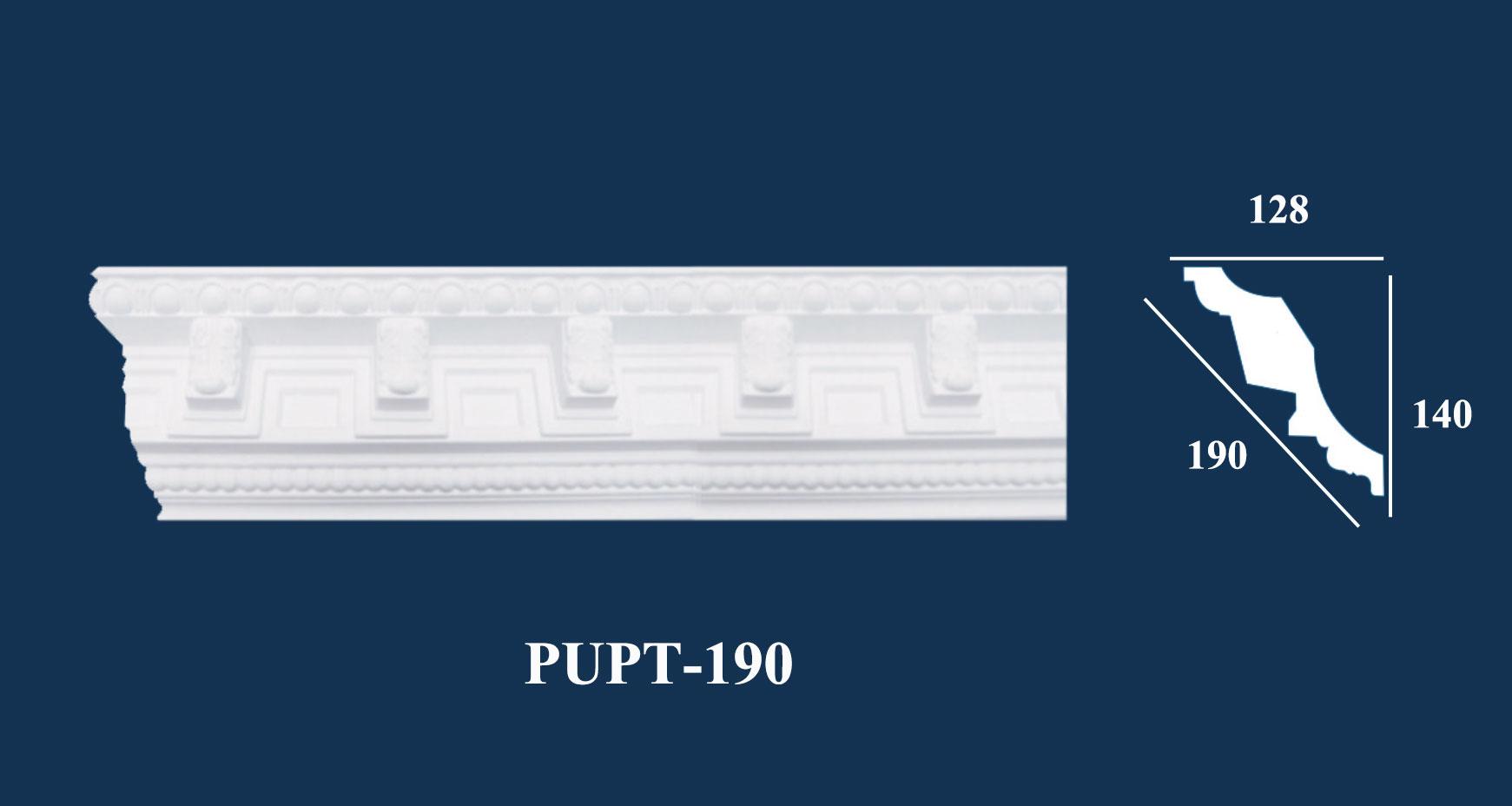 Phào Góc Trần PU Hoa Văn - PUPT-190