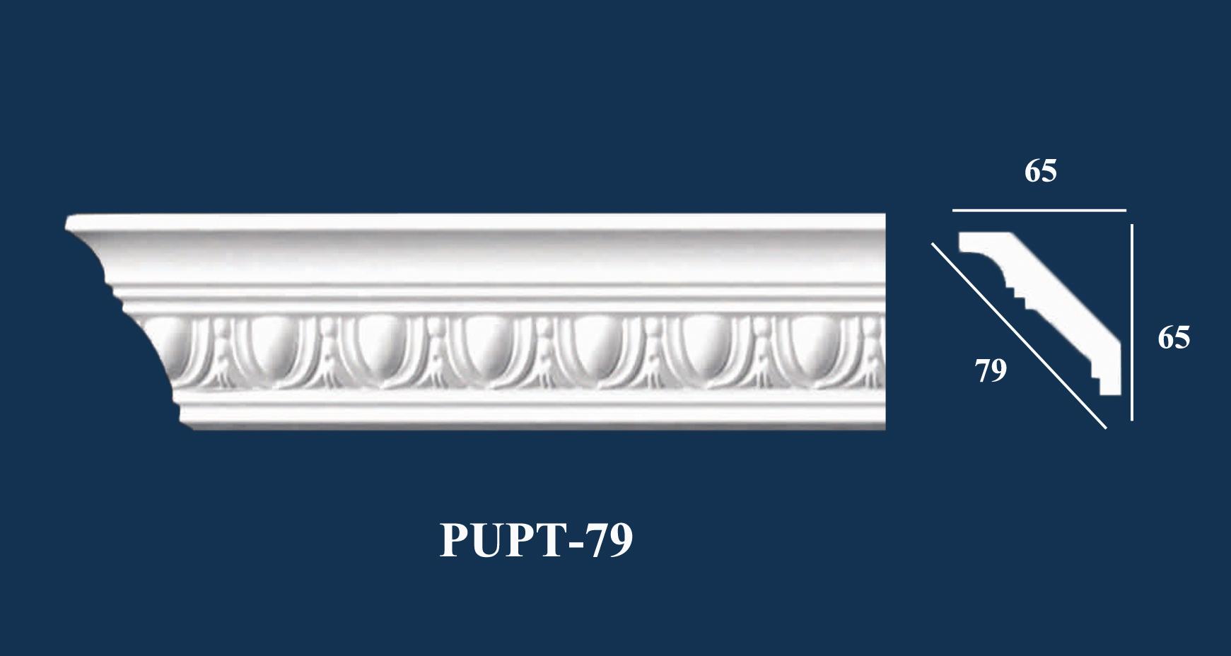 Phào Góc Trần PU Hoa Văn - PUPT-79