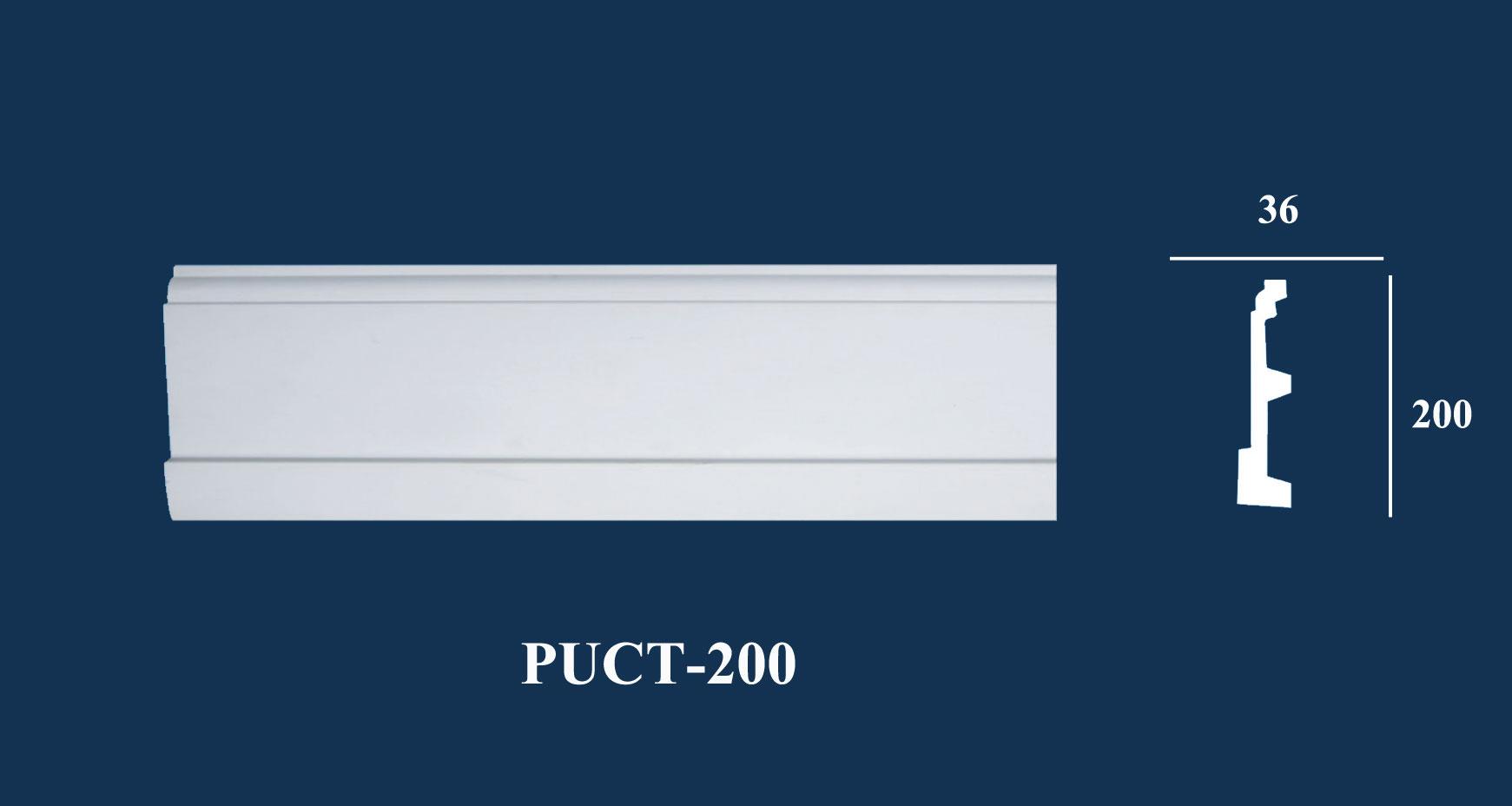 Phào Chân Tường PU | PUCT-200