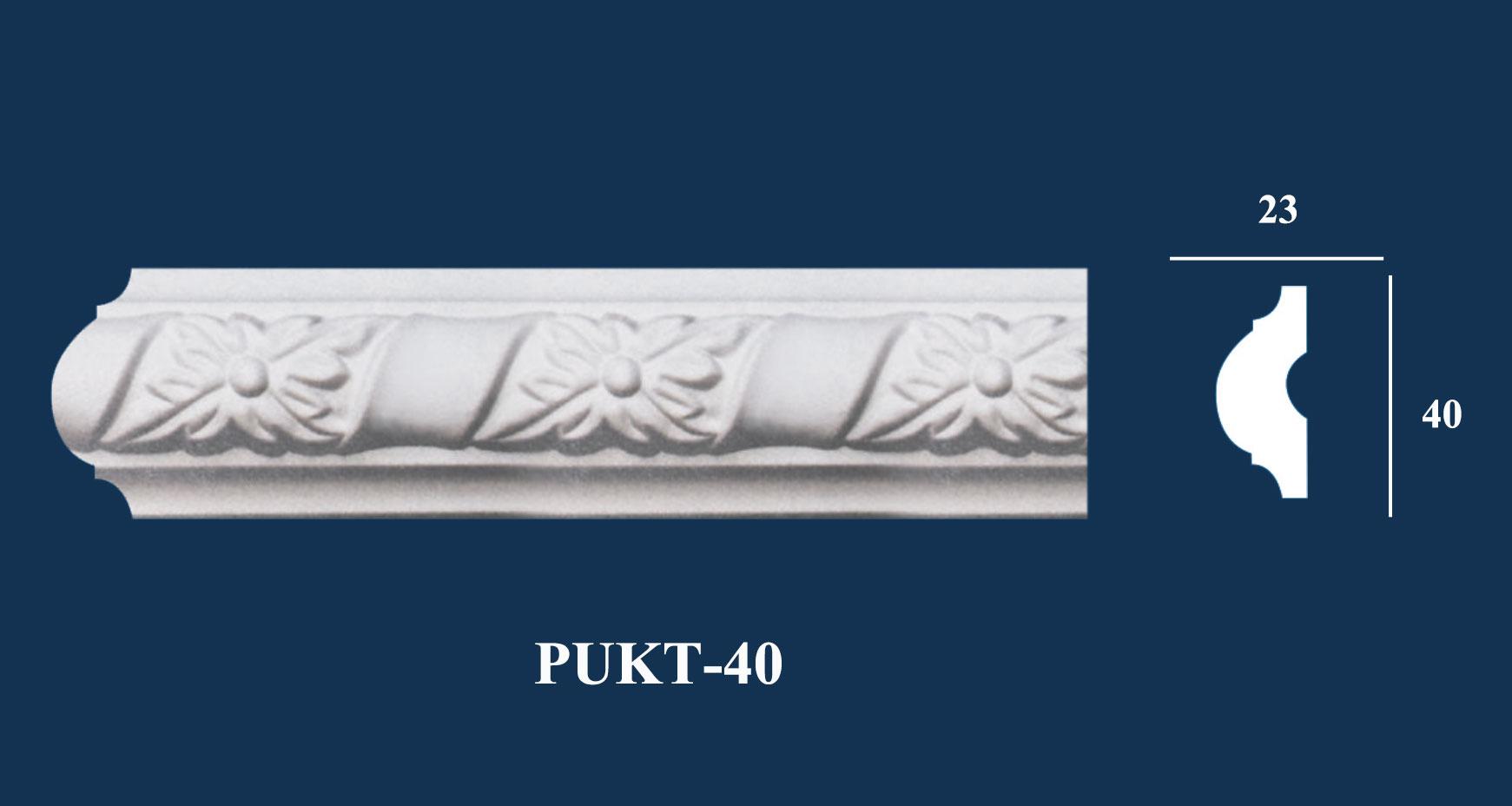 Phào Chỉ Nẹp Hoa Văn - PUKT-40