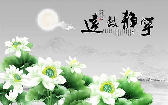Tranh Hoa Sen - 1330