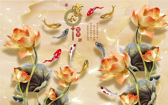Tranh Hoa Sen - 2570