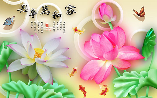 Tranh Hoa Sen - 2811