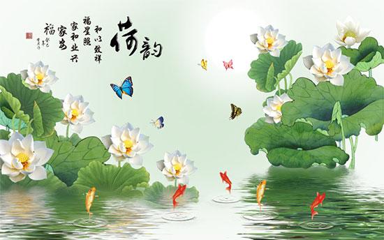 Tranh Hoa Sen - 3180