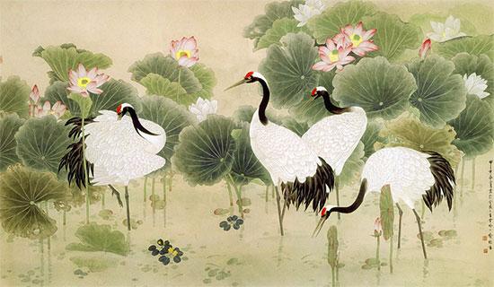 Tranh Hoa Sen - 3846