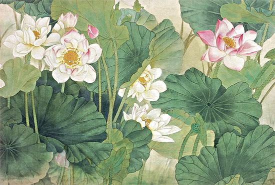 Tranh Hoa Sen - 3848