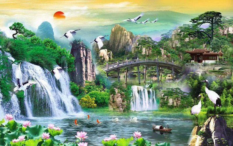 Tranh Sơn Thủy - 15022