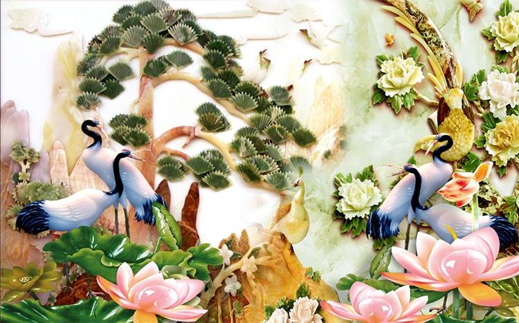 Tranh Tùng Hạc - 15042