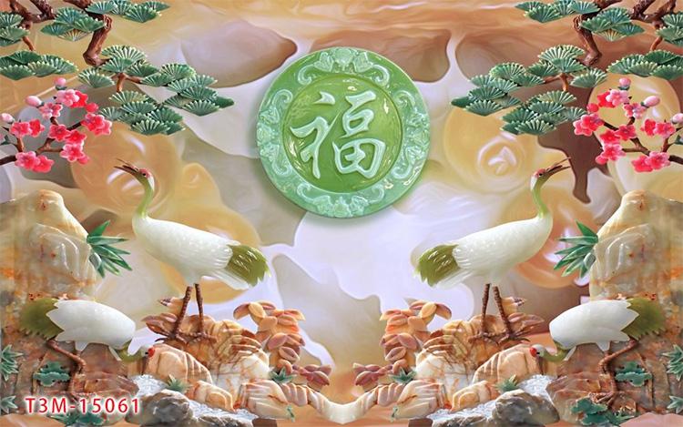 Tranh Tùng Hạc - 15061